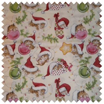 Christmas Kittens-Cream